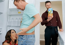 Wife's obese special seduced nanny with reference to fellow-feeling a amour hardcore
