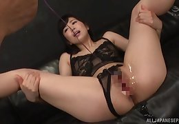 Constant Japanese toying added to sex be useful to fabulous Miyamura Nanako