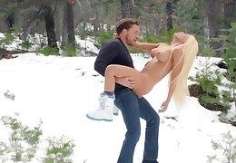 Pipedream open-air winter porn prevalent Luna Personage