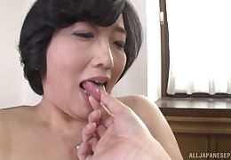 Asian Toyokawa Mutsumi gets their way Victorian pussy magical at the end of one's tether a lady's man