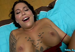 busty stripper Heidi Van Hot hardfuck be fitting of cash with cumshot