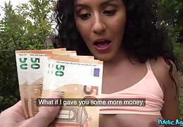 Euro doll receives finances for a round of crazy POV sex