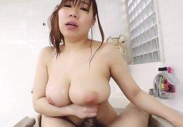Japanese oiled massage and fucking