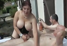 Phoebe Very Hot French Bbw Get Fucked By 3 Guys